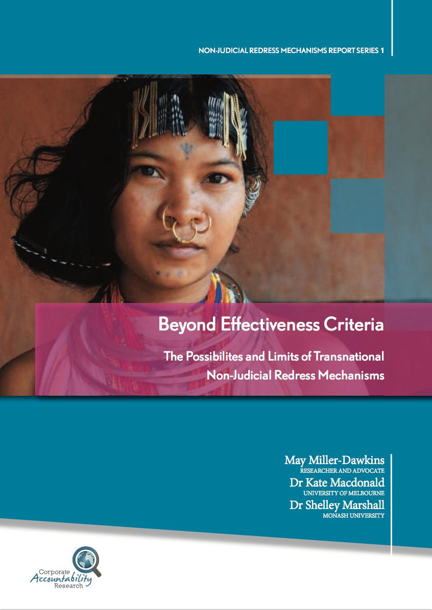 Beyond Effectiveness Criteria